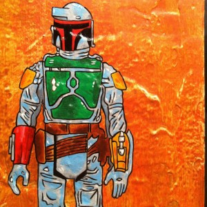Birds In Boxes - Boba Fett 002