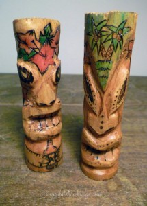 Nik Gernert x Clumsey Kate - Wood Tikis