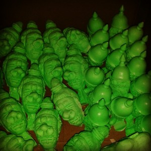 Skumbags - Resin - Warmongers + Shrunken Heads