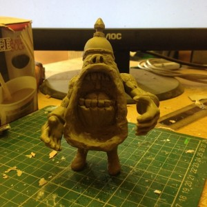 Skumbags - Resin - Warmongers - The General - Sculpt