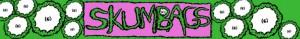 Skumbags - banner logo