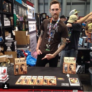CS - Beau - On THe Art Hustle - Tenacious Toys Booth NYCC