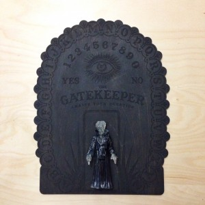 CS - Resin - Gatekeeper - Black One Off - Mounted