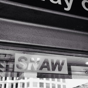 SNAW - sticker - in the wild 001