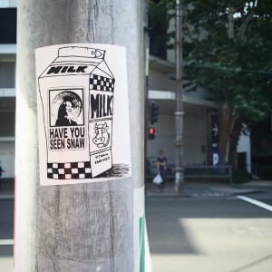 SNAW - sticker - in the wild 002