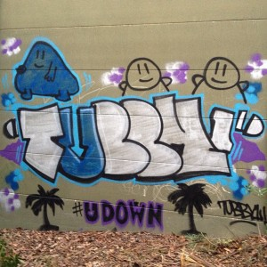 TubbyToy - Wall Piece 008 - U Down