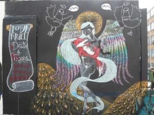Love Ariel - STREET ART - 003