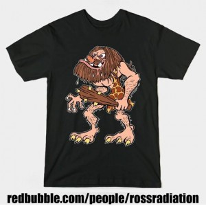 Ross Radiation - T Shirt - Red Bubble Design 001