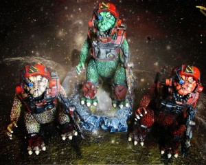 SAM x Goodleg Toys - Painted Dinos 001