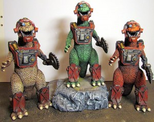 SAM x Goodleg Toys - Painted Dinos 002