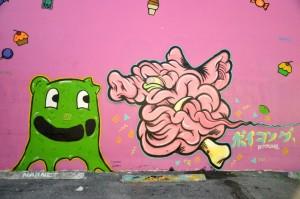 Crummy Gummy x Boy Kong - Mural - 001