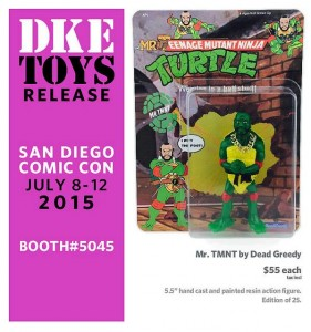 Dead Greedy - Resin - Mr TMNT
