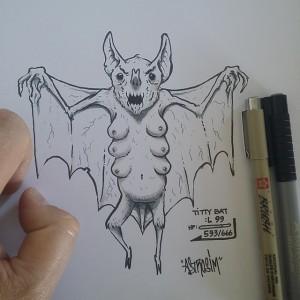 Stian Simensen - Sketch - 005 - TITTYBAT submission