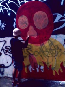 Yahya Dwi Kurniawan - Graffiti Process - 001