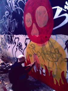 Yahya Dwi Kurniawan - Graffiti Process - 002