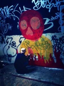 Yahya Dwi Kurniawan - Graffiti Process - 003