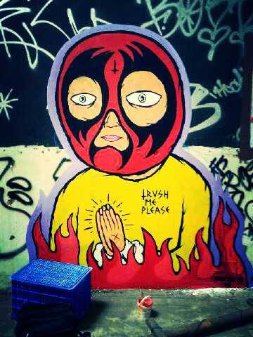 Yahya Dwi Kurniawan Graffiti Process