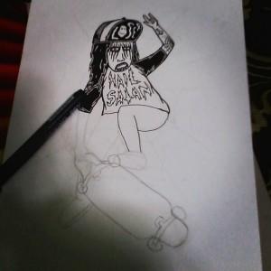 Yahya Dwi Kurniawan - Sketch Process - 001