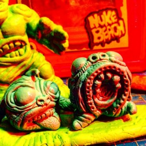 Nuke Beach - Mini Mutation Figure - 002