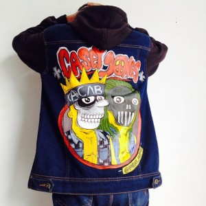 Erick Mahendra - Painted Jacket - 001
