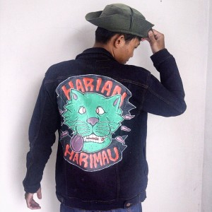 Erick Mahendra - Painted Jacket - 002