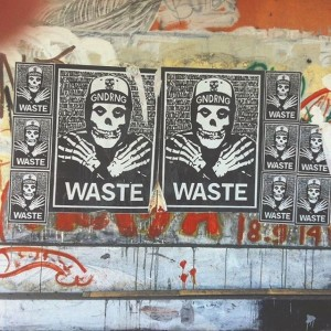 Gindring Waste - Paste Up - 001