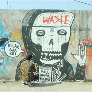Gindring Waste - Street Art - 001