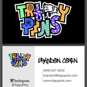 Trippy Pins - Digital Business Card