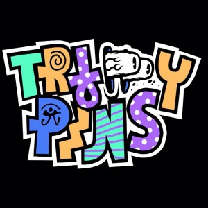 Trippy Pins - Logo - By GimJob69