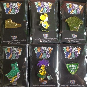 Trippy Pins - Pin Gang - 001