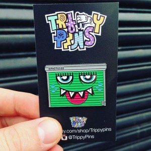 Trippy Pins x Phetus88 - Pin - 001
