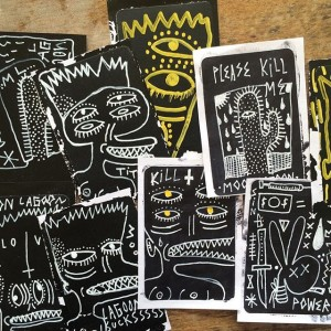 Byron - Hand Drawn Stickers - 001