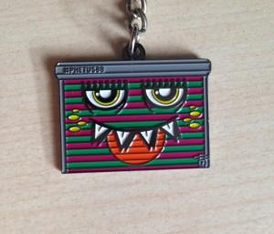 Trippy Pins - Keychain - Phetus Art 001