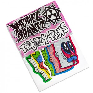 Trippy Pins - Sticker Pack - By GimJob69