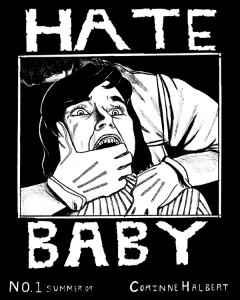 Corinne Halbert - Hate Baby - Issue 1 Cover