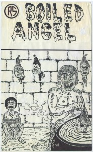 Mike Diana - Boiled Angel 1 - Cover