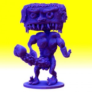 Mike Diana x Ultra Dead Toy - Sculpt