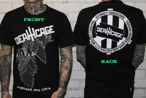Spider Death - Deathcage - T Shirt 001