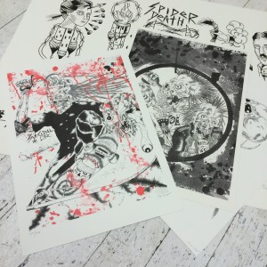 Spider Death x China Heights - Print Pack 001