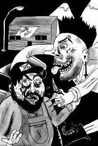 Punks vs Redneck CHalbert