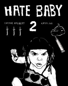 Corinne Halbert - Hate Baby - Issue 2 Cover