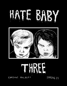 Corinne Halbert - Hate Baby - Issue 3 Cover