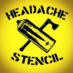 Headache Stencil - LOGO - 001