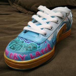 Lurk - Hand Painted Sneaker 001