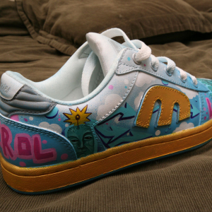Lurk - Hand Painted Sneaker 002