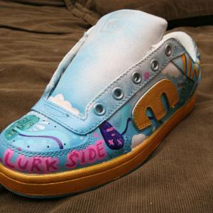 Lurk - Hand Painted Sneaker 003