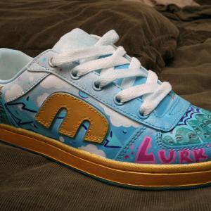 Lurk - Hand Painted Sneaker 004