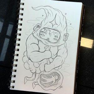 Lurk - Sketch 002