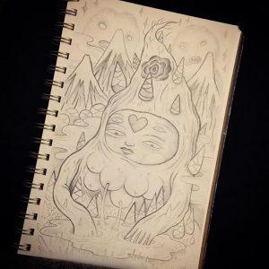Lurk - Sketch 004