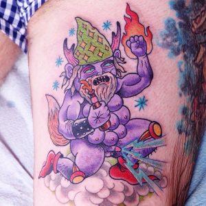 Lurk - Tattoo 001